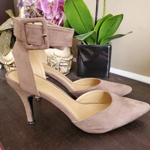 Cato Strap Ankle Heels Size 9
